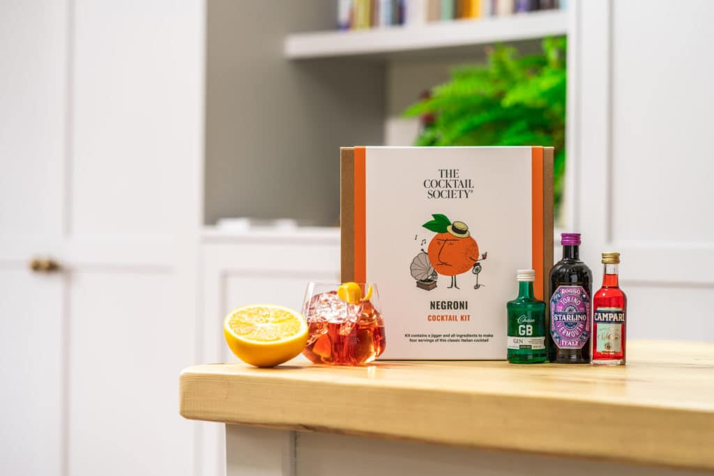 The Negroni Cocktail Kit by The Cocktail Society