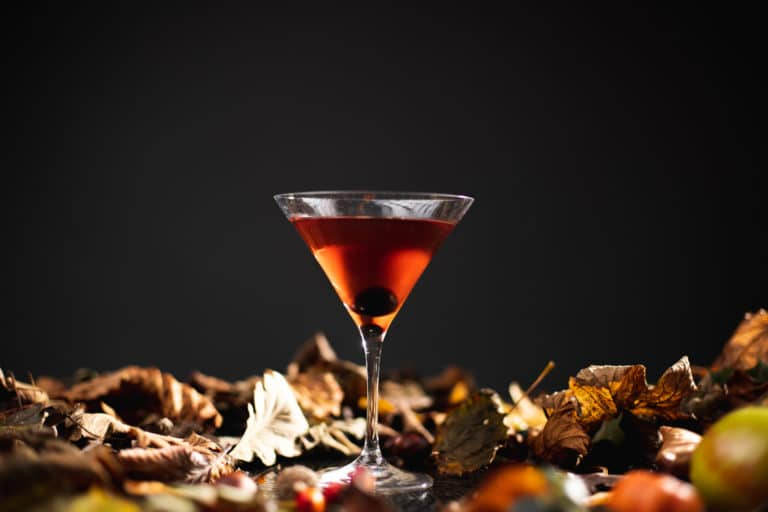 Harvest Cocktail by Autumn leaves